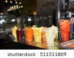 composition with assorted raw... | Shutterstock . vector #511511809