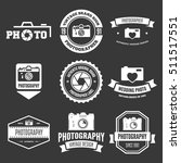 photography badges and labels... | Shutterstock .eps vector #511517551
