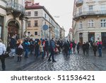 ukraine  lviv   january 3  2015 ... | Shutterstock . vector #511536421