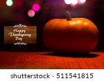 thanksgiving  thanks giving day ... | Shutterstock . vector #511541815