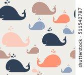 kids pattern. seamles vector... | Shutterstock .eps vector #511542787