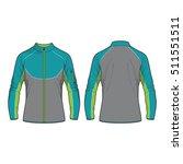men sport jacket vector template | Shutterstock .eps vector #511551511