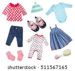 baby infant newborn child girl... | Shutterstock . vector #511567165