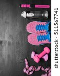 sports equipment   sneakers ... | Shutterstock . vector #511567741