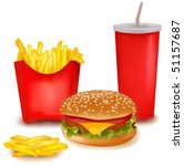 photo realistic vector. big... | Shutterstock .eps vector #51157687