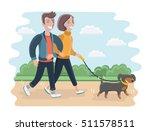 vector cartoon illustration of... | Shutterstock .eps vector #511578511
