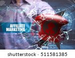 Small photo of Business, Technology, Internet and marketing. Affiliate marketing