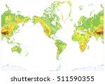 america centered detailed... | Shutterstock .eps vector #511590355