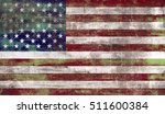 united states of america flag... | Shutterstock . vector #511600384