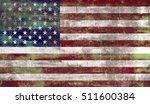 united states of america flag... | Shutterstock . vector #511600384