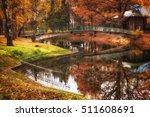 walkway and bridge over city... | Shutterstock . vector #511608691