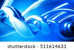 the beautiful azure  smooth... | Shutterstock . vector #511614631
