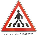 Road Sign Used In Hungary  ...