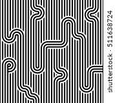 seamless geometric striped... | Shutterstock .eps vector #511638724