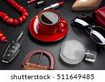 women accessories  clothing ...   Shutterstock . vector #511649485
