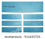set of modern scientific...   Shutterstock .eps vector #511652731