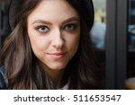 girl portrait with hat | Shutterstock . vector #511653547