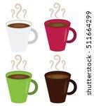 hot coffee mugs   Shutterstock .eps vector #511664299