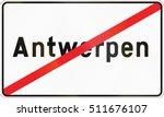 belgian regulatory road sign  ...   Shutterstock . vector #511676107