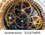 fake clockwork with gears in... | Shutterstock . vector #511676809