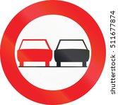 belgian regulatory road sign  ...   Shutterstock . vector #511677874