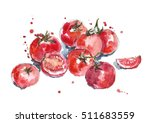 fresh tomatoes.   Shutterstock . vector #511683559