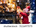children window shopping on... | Shutterstock . vector #511697575