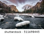 Nature Landscape Of Yosemite...
