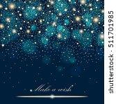 vector gold glitter particles... | Shutterstock .eps vector #511701985