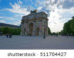 paris  france   may 3  2012 ... | Shutterstock . vector #511704427