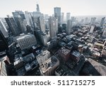 cityscape of chicago  | Shutterstock . vector #511715275