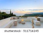 exterior with beautiful... | Shutterstock . vector #511716145