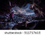 exploring dewdrop cave craters... | Shutterstock . vector #511717615