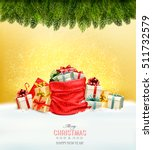 holiday christmas background... | Shutterstock .eps vector #511732579