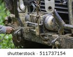 Detail Photo Of The Car Winch...