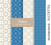 vector pattern set for package  ... | Shutterstock .eps vector #511737751
