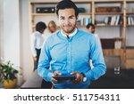 portrait of successful... | Shutterstock . vector #511754311