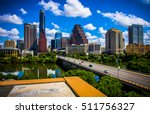 austin texas during sunny... | Shutterstock . vector #511756327