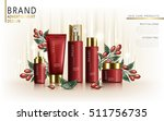 wolfberry skincare set ... | Shutterstock .eps vector #511756735