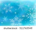 beautiful  magic christmas...   Shutterstock .eps vector #511765549