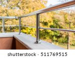 close up of a balcony metal... | Shutterstock . vector #511769515
