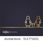 abstract creative concept... | Shutterstock .eps vector #511771021
