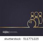 abstract creative concept... | Shutterstock .eps vector #511771225