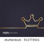 abstract creative concept... | Shutterstock .eps vector #511773421