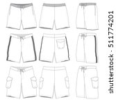 boardshorts vector illustration ... | Shutterstock .eps vector #511774201