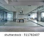 office in a loft style with... | Shutterstock . vector #511782607