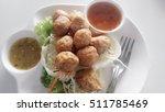 fried shrimp ball. it is made...   Shutterstock . vector #511785469