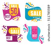 vector collection of bright...   Shutterstock .eps vector #511785589