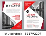 business brochure. flyer design.... | Shutterstock .eps vector #511792207