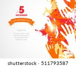 5 december. international... | Shutterstock .eps vector #511793587